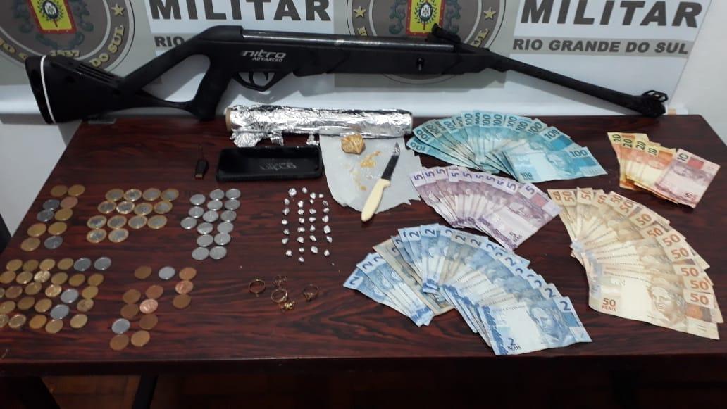 Operação contra tráfico de drogas em Catuipe