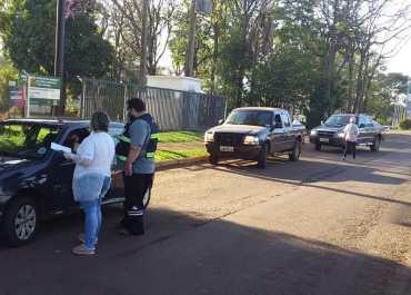 Barreiras sanitárias são realizadas constantemente no município de Catuípe