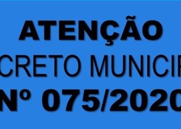 Novo Decreto Municipal é publicado em Catuípe