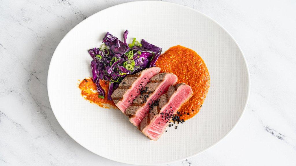 Seared Ahi Tuna Steak