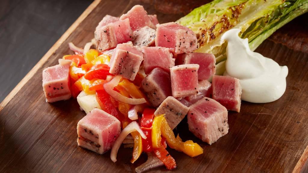 Seared Ahi Tuna Cubes