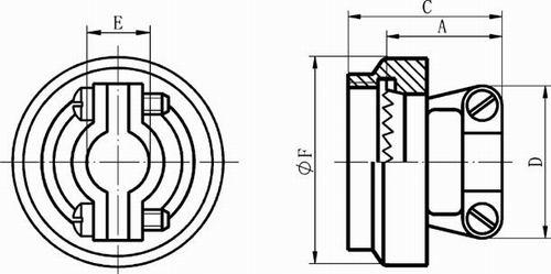 GJB599 Series (MIL-C-38999) Ⅲ circular fire-proof