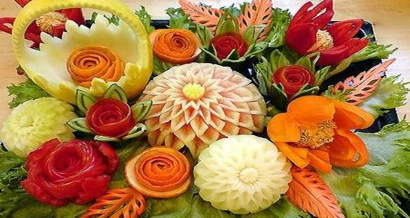 ANPA  Accademia Nazionale Professioni Alberghiere  Tecniche di intaglio thai di frutta e verdura