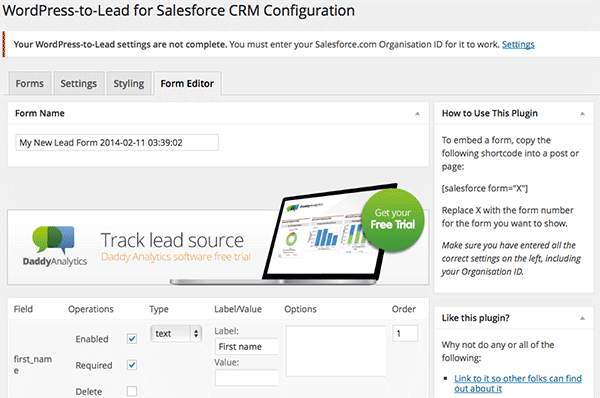 wordpress_lead_salesforce