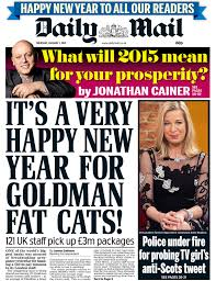 Goldman Sachs Mail front page