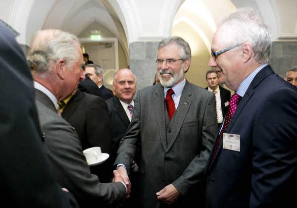 Prince Charles meets Gerry Adams 2015