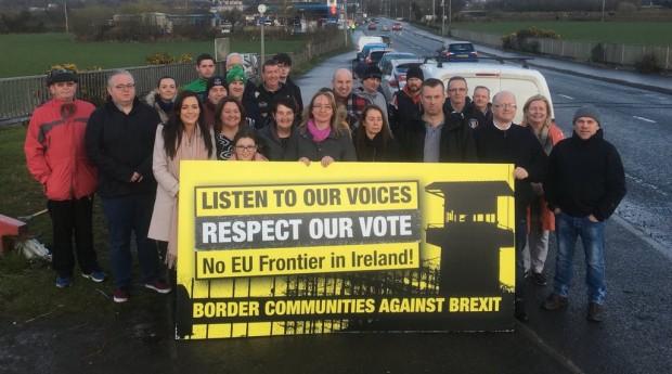 Hasil gambar untuk dermot o'hara Border Communities Against brexit