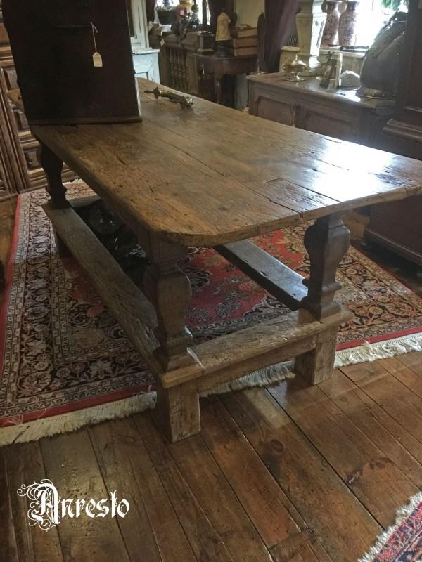 Ref. 12 - Antieke landelijke tafel, oude tafel
