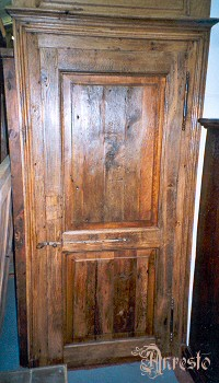Vlaamse paneeldeur 18e eeuws