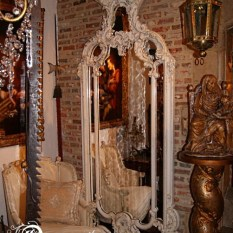 Italiaanse wandspiegel 18e eeuws