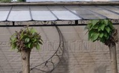 Ref. 14 – Afdak Art Nouveau stijl foto 1