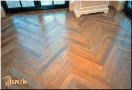 Ref. 02 – Exclusieve houten vloer parket