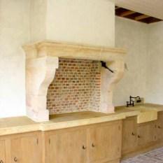 Ref. 03 – Buitenkeuken open haard - Anresto keuken ontwerp