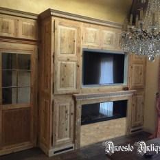 Ref. 02 – Antieke houten wandkast, oude houten wandkast