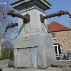 Ref. 16 – Bronzen waterspuwer, bronze fountain spout