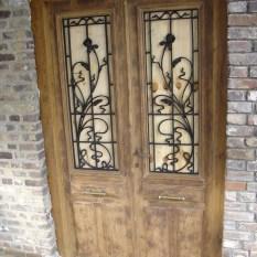 Ref. 49 – Exclusieve deur wordt op uw maat gemaakt met oud hout