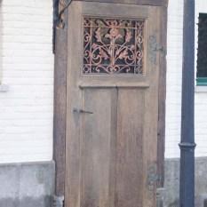 Ref. 50 – Exclusieve deur wordt op uw maat gemaakt met oud hout