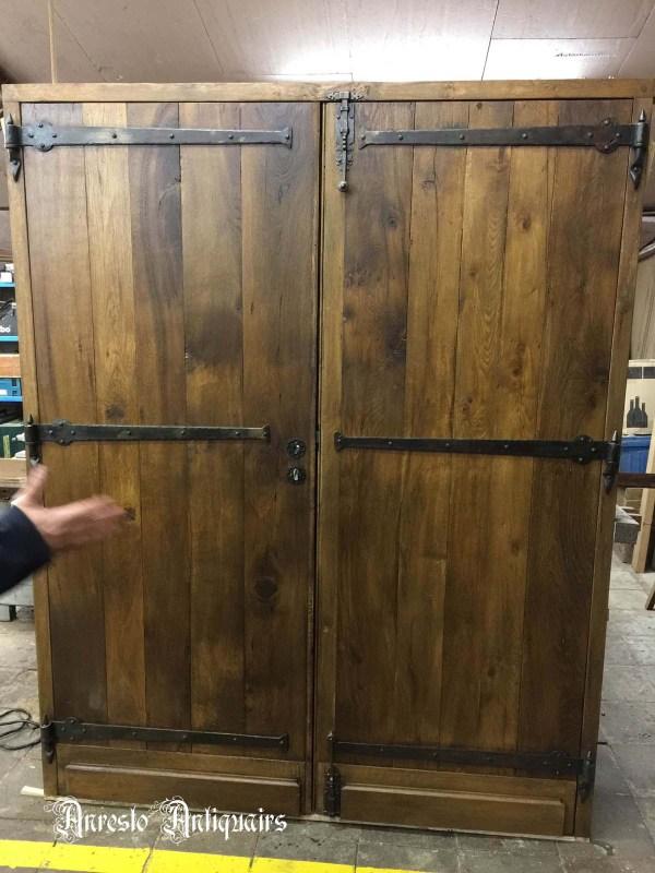 Ref. 56 – Exclusieve deur wordt op uw maat gemaakt met oud hout