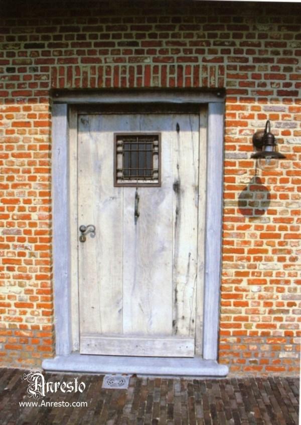 Ref. 73 – Exclusieve deur wordt op uw maat gemaakt met oud hout
