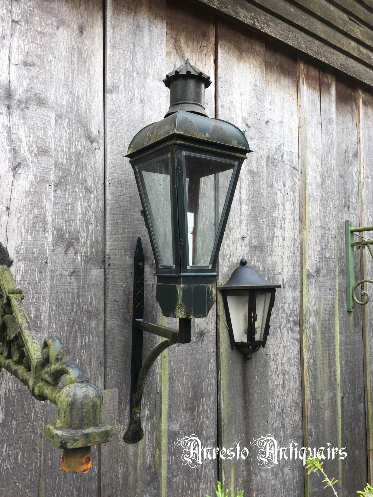 Ref. 46 – Hollandse grachtenpand lamp
