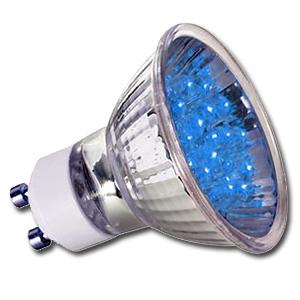 Ampoule LED GU10 1W 24 Bleue PAULMANN