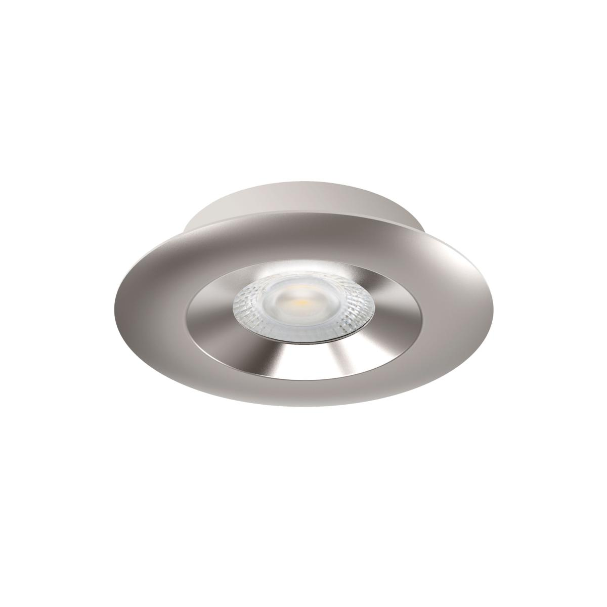 spot led extra plat dimmable recouvrable isolant aric 5w 36 220v aspen 50748