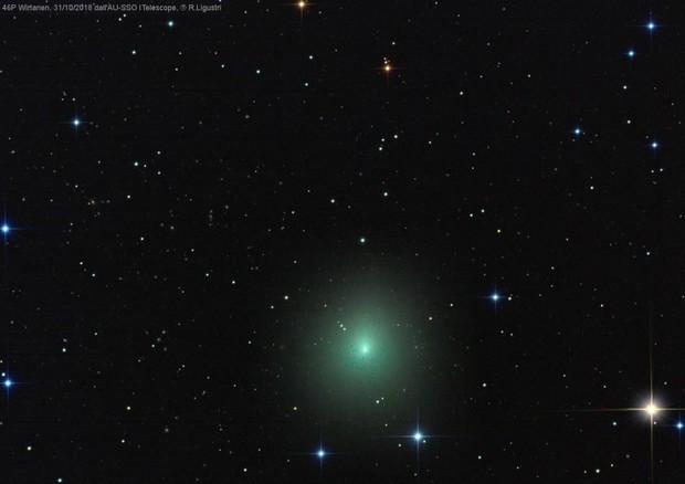 Primo scatto dall'Italia della cometa di Natale 46P/Wirtanen © Ansa
