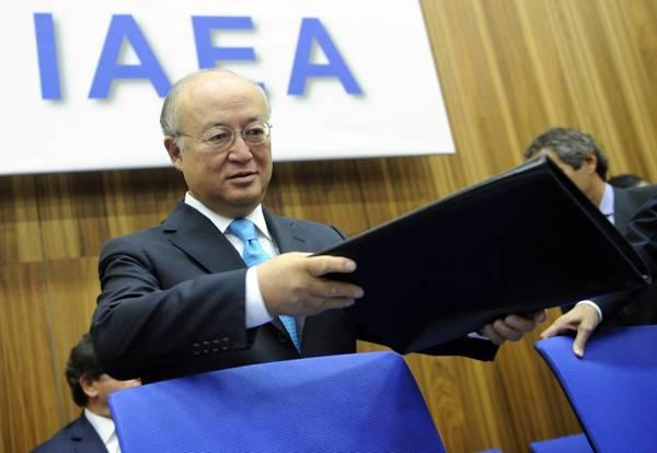 Yukiya Amano, direttore generale dell'Aiea