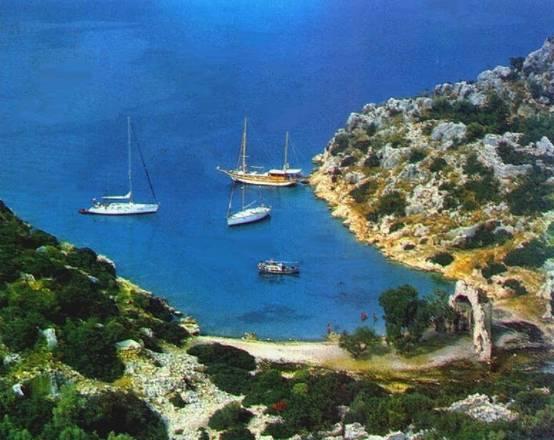 Navigare in caicco lungo la costa turca da Marmaris ad Antalya  Foto racconti  In Viaggio