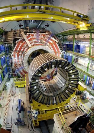 Una delle apparecchiature utilizzate dal Cern di Ginevra per gli esperimenti