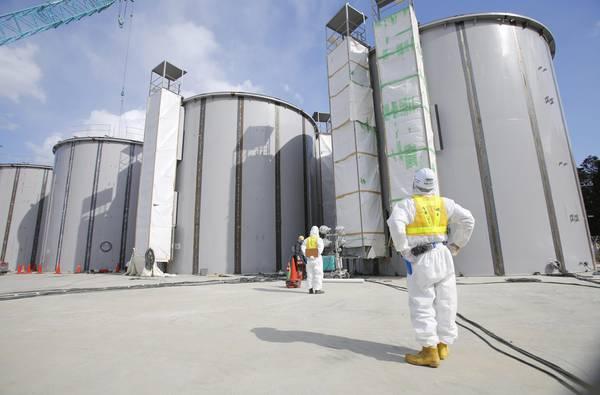 Acqua ad alta contaminazione in edificio centrale Fukushima