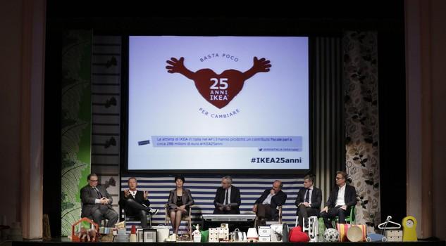 Il convegno Basta poco per cambiare 25 anni di Ikea in Italia  Lifestyle  Lifestyle