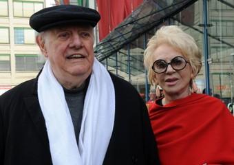 Franca Rame con il marito Dario Fo