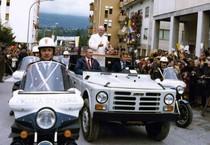Giovanni Paolo II in una foto d'archivio (ANSA)