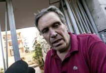 Pier Luigi Camilli, il padre del videoreporter italiano Simone Camilli ucciso a Gaza (ANSA)