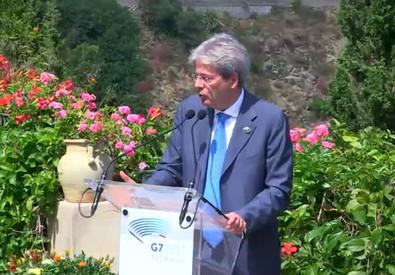 G7, Gentiloni: 'Trump decida, ma sul clima non arretriamo di un millimetro' (ANSA)