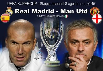 UEFA Super Cup, Real Madrid-Man Utd (ANSA)