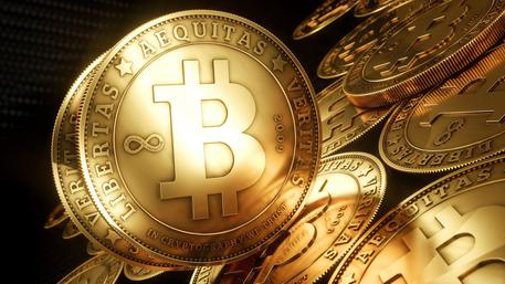Bitcoin, valore è cresciuto nell'ultimo anno (foto: ANSA)