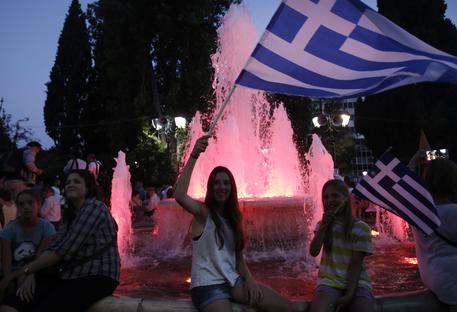 Referendum Grecia: netta vittoria del no. La festa di Tsipras © EPA