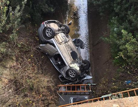 Auto fuori strada muore una donna  Sardegna  ANSAit