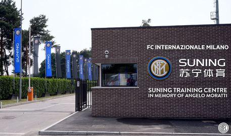 Foto tratta dal profilo Twitter dell'Inter © ANSA