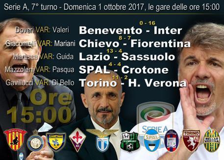 Serie A: Inter, Lazio e altre 8 in campo © ANSA