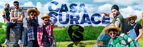 Sanremo racconto social dei Casa Surace  Tv  ANSAit