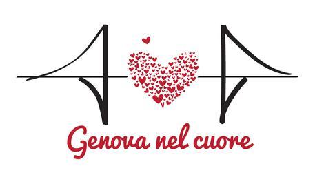 Crollo ponte: Serie A con maglia 'Genova nel cuore' © ANSA