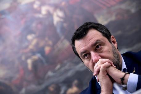 Migranti: Salvini, conto di passare un 2020 a piede libero © ANSA