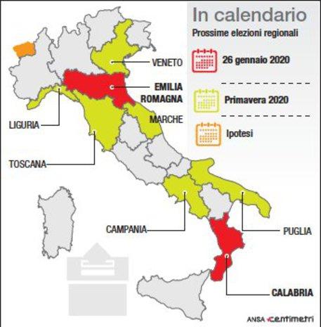 Le prossime elezioni Regionali © Ansa