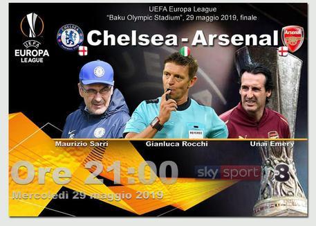 Europa League, finale: Chelsea-Arsenal © ANSA