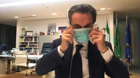 Coronavirus: Lombardy head self isolates - English - ANSA.it