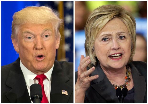 Donald Trump e Hillary Clinton (foto: AP)