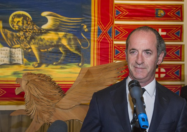 Il presidente del Veneto, Luca Zaia © ANSA